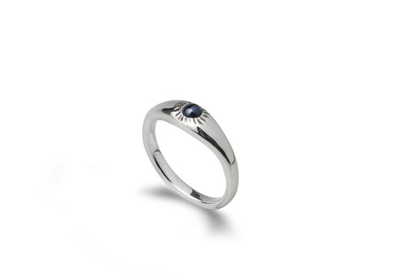 Image of Atlantic ring with Sapphire