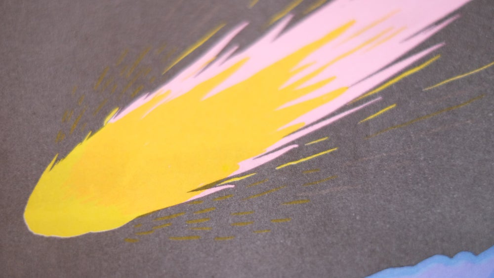 """Image of """"THE ENGAGEMENT"""" LIMITED EDITION RISOGRAPH PRINT"""