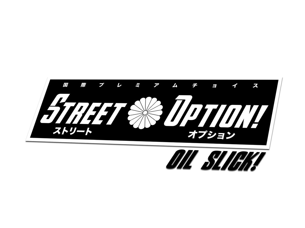 Image of ストリートオプションチームスリック | Street Option Team Oil Slick 「limited」