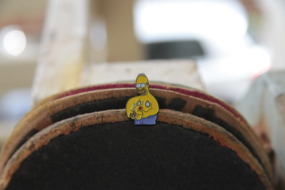 Image of Hungry hippo 2.0 Lapel Pin