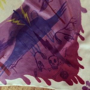 """Image of Silk scarf, """"Glädje och Sorg"""""""