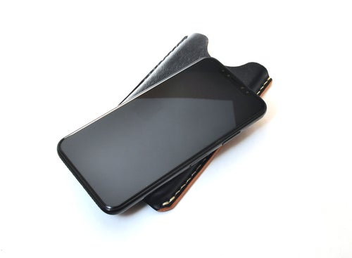 Image of iPhone 10 Leather Phone Case