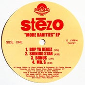 "Image of STEZO ""MORE RARITIES"" EP (Standard Black Vinyl) PRE-ORDER"