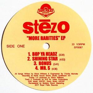 "Image of STEZO ""MORE RARITIES"" EP (Standard Black Vinyl)"