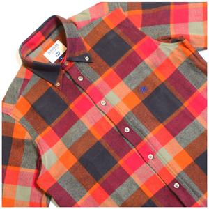 Image of CC x MADRAS SHIRTING Co BD Flannel shirt
