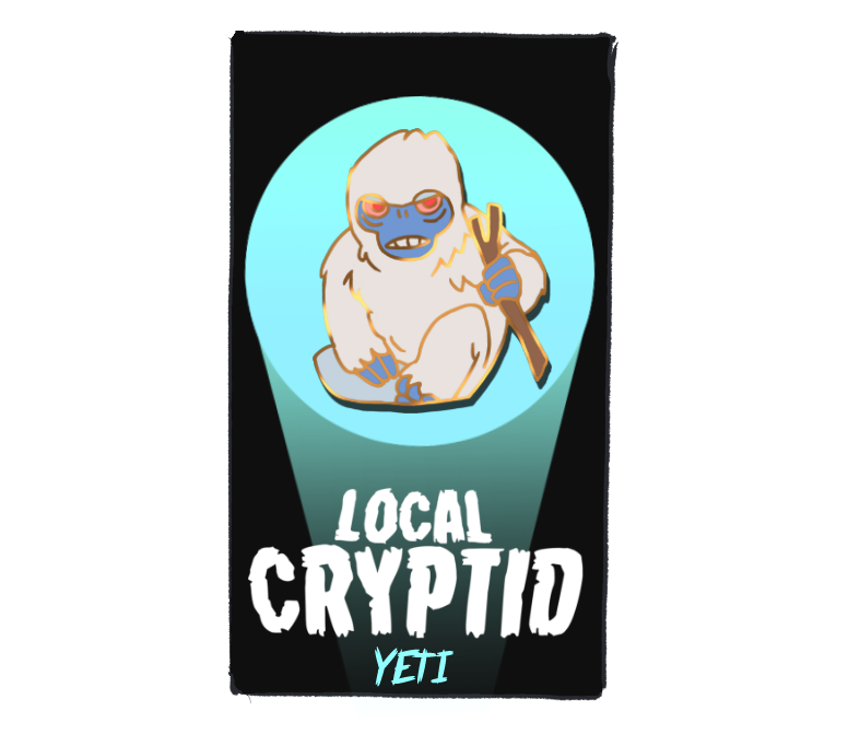 Image of Local Cryptid Pins and Stickers