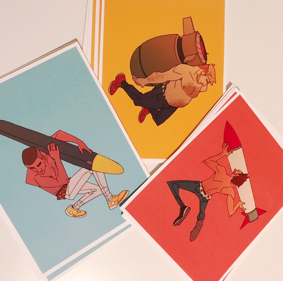 Image of Ballistic Boys Mini Print Set