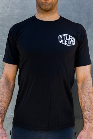 Atlas Jiujitsu Tee - $36.95AUD - ATLAS FIGHTWEAR