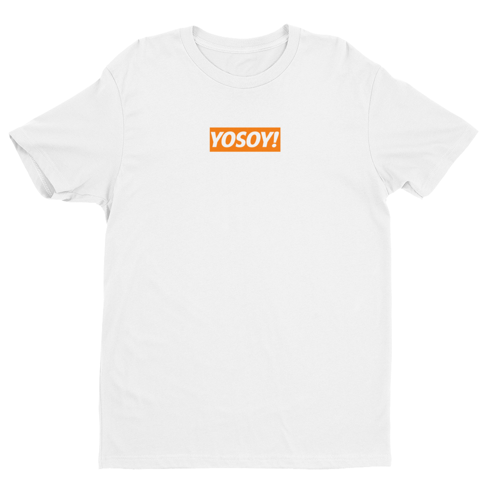 Image of YOSOY BOX LOGO TEE (WHITE)