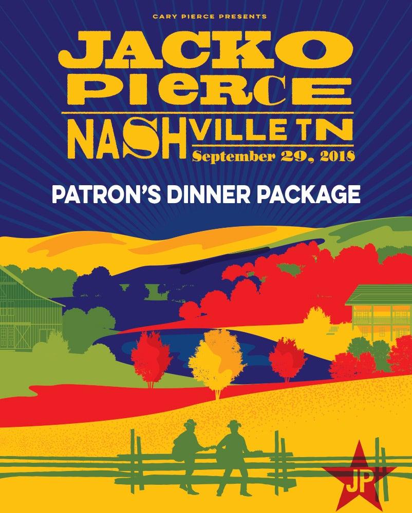 Image of Nashville Destination Show - September 29, 2018 - Patron's Dinner Package