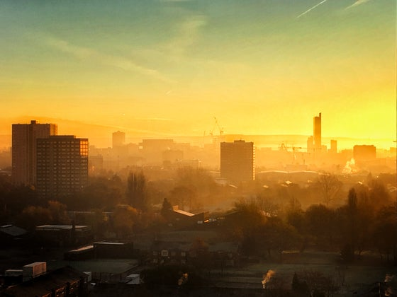 Image of TOWARDS MANCHESTER FROM SALFORD, 2