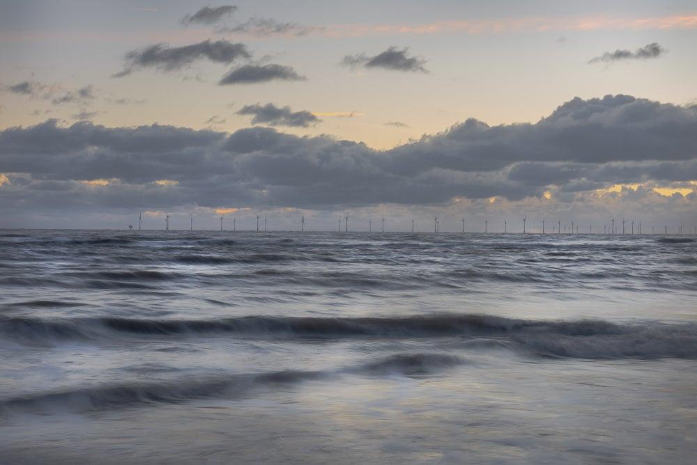 Image of DUSK, FROM WALNEY ISLAND - CUMBRIA