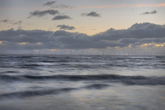 Image of DUSK, FROM WALNEY ISLAND - CUMBRIA
