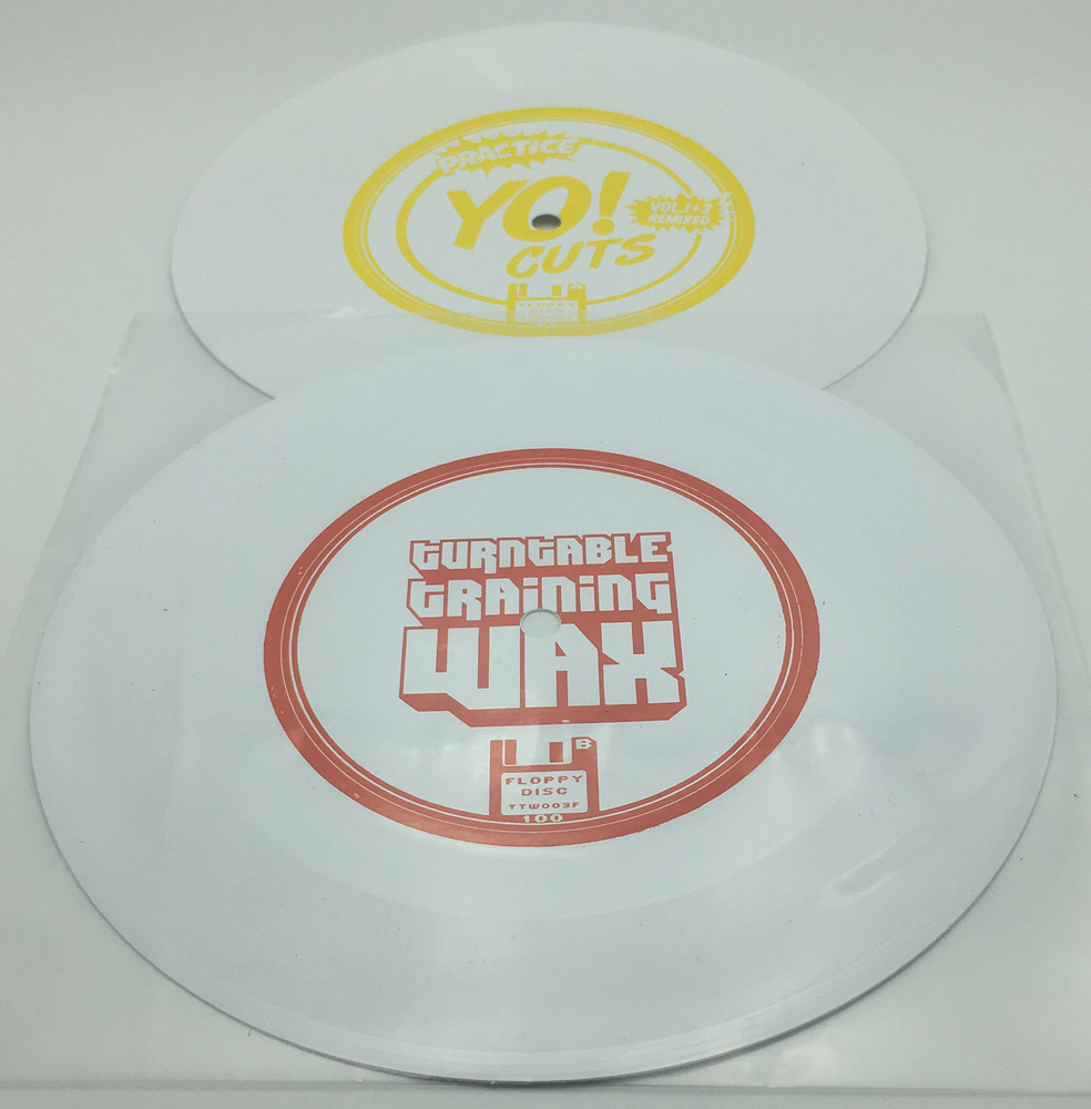 "Image of Practice Yo! Cuts floppy disc's - 7 "" scratch vinyl set (LIMITED PAIR)"