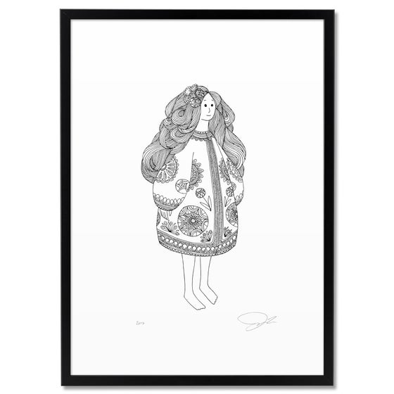 Image of Print: Girl