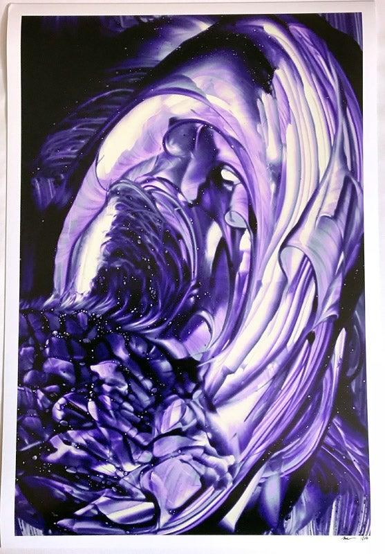 Image of Purple Stroke I