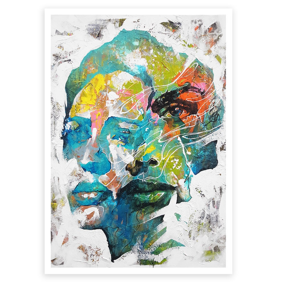 "Image of ""One and The Same"" OPEN EDITION PRINT - FREE WORLDWIDE SHIPPING!!!"
