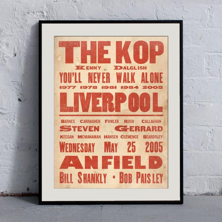 Image of Liverpool 'Ye Olde' Print