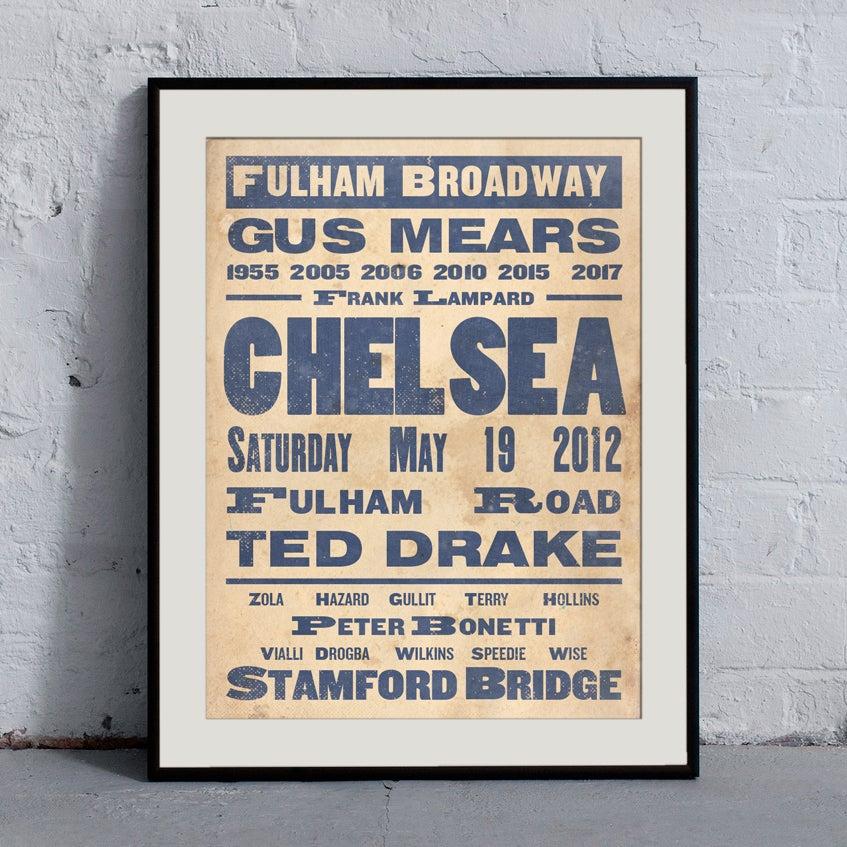 Image of Chelsea 'Ye Olde' Print