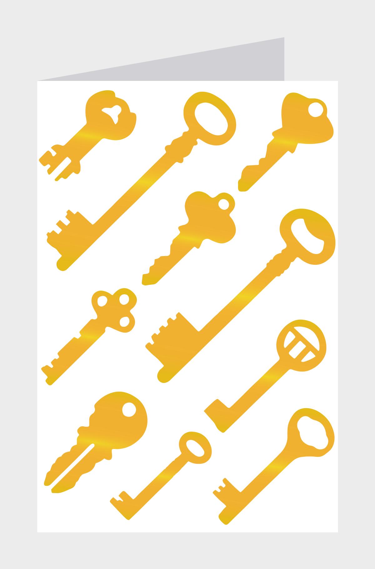 Image of Copper Foil Keys