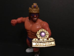 Image of Macho Crown Enamel Pin
