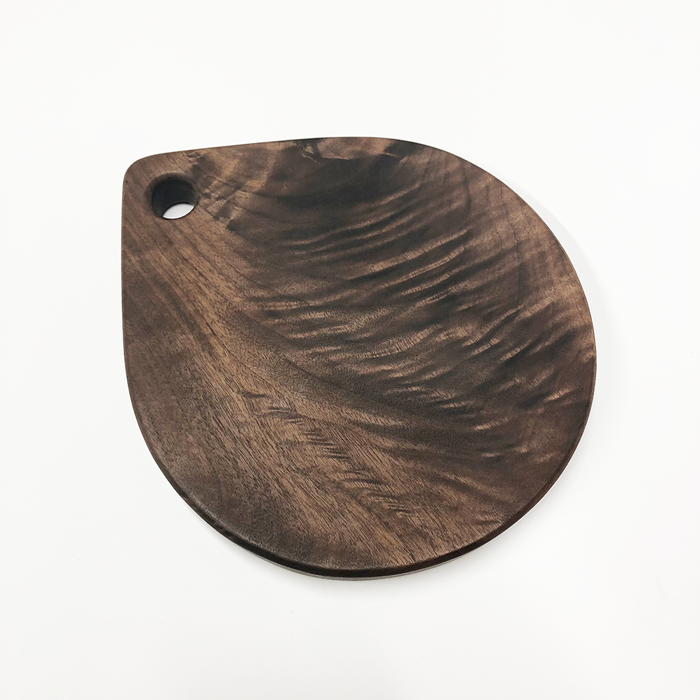 "Image of ""Raindrop"" walnut board"