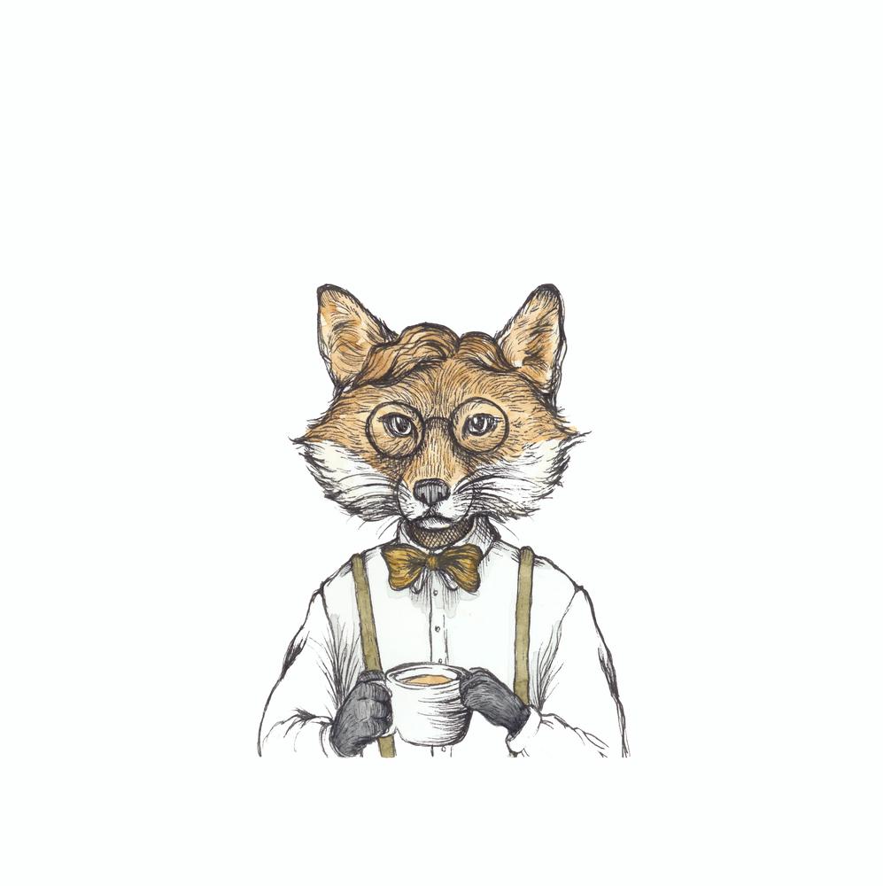 "Image of Print ""Mr. Fox"""