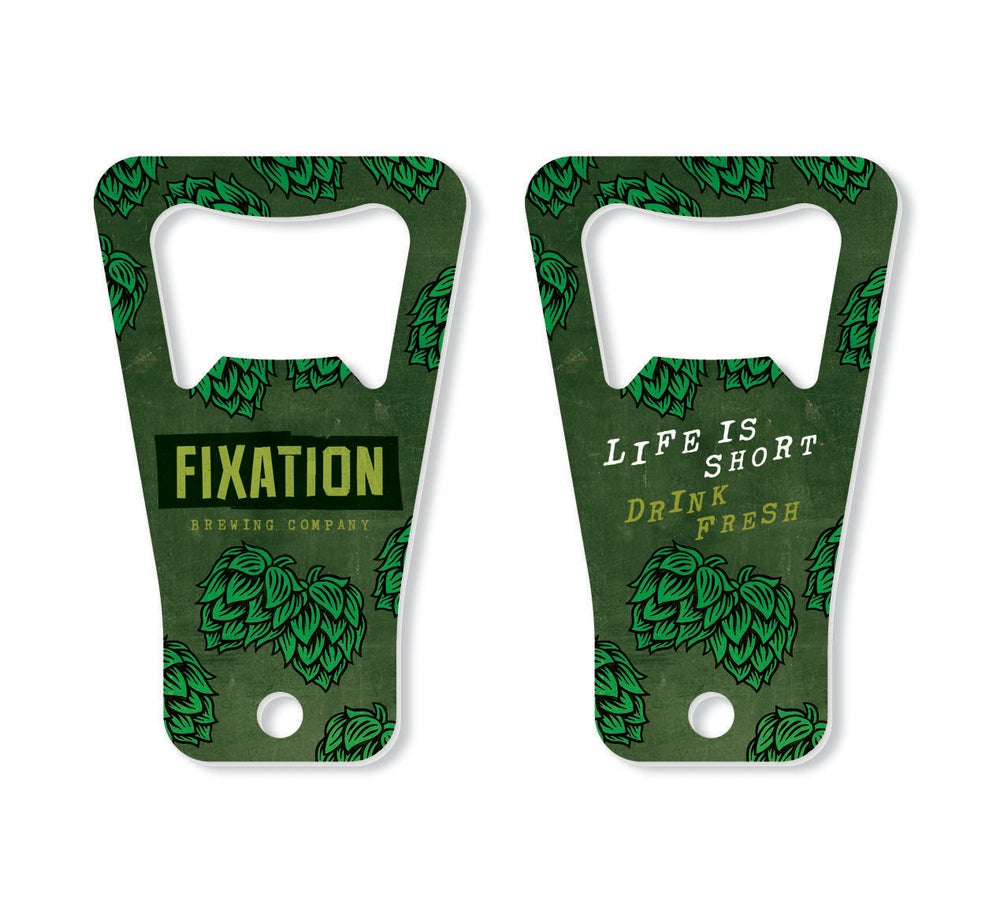 Image of Fixation keyring bottle opener