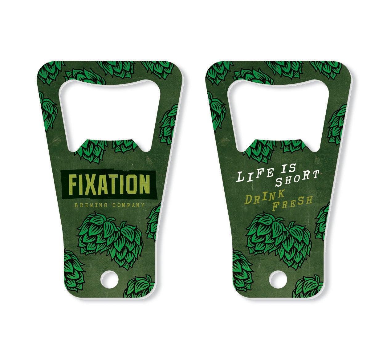 Image of Fixation keyring bottle opener