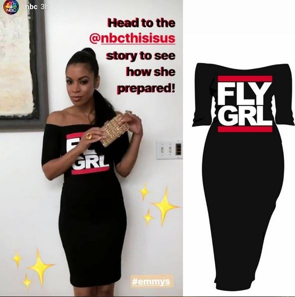 Image of FLY GRL 'Off Shoulder Dress' Featured On Fox's STAR