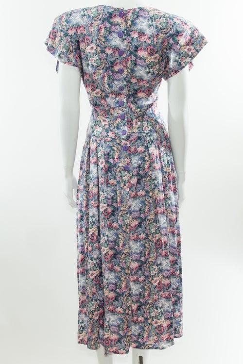 Image of 90s Floral Dress