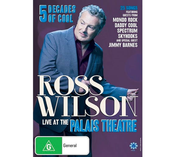 Image of Ross Wilson Live at the Palais Theatre (DVD)