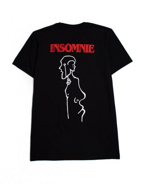 Image of INSOMNIE TEE - BLACK