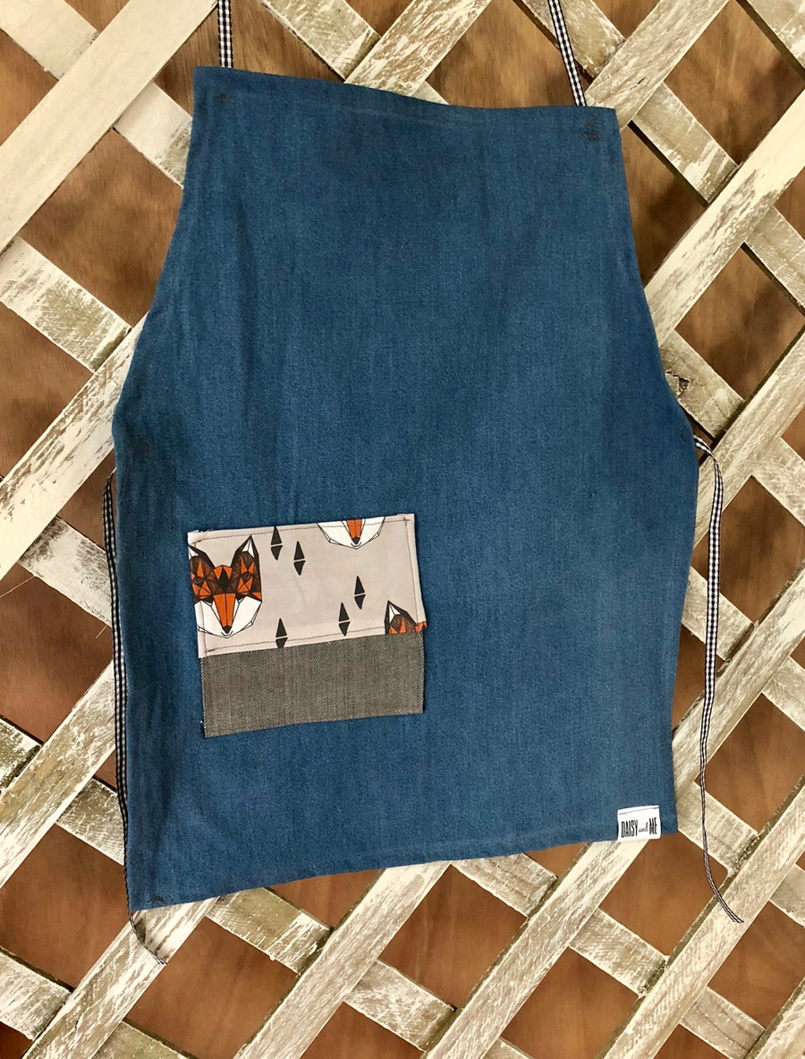 Image of Sustainable Kids Apron - Foxy