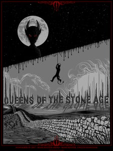 Image of Queens of the Stone Age in Manchester, UK Poster