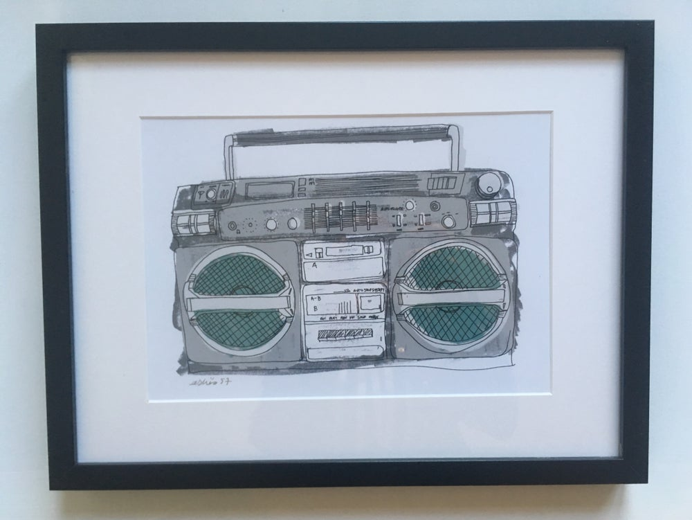 Image of Boombox