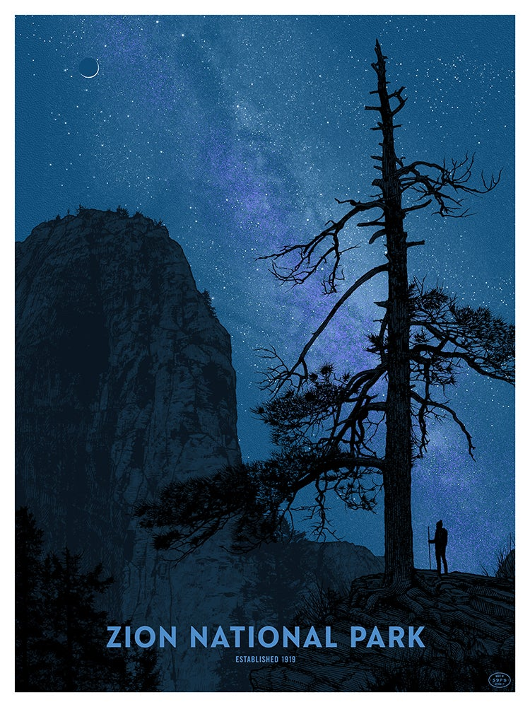 Image of Zion National Park - NIGHT