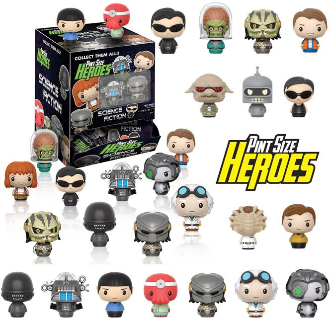Image of Funko Pint Sized Heroes: Sci-Fi