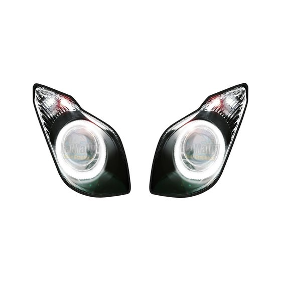 Image of Headlight Stickers to fit Kawasaki ZX6R 2009>