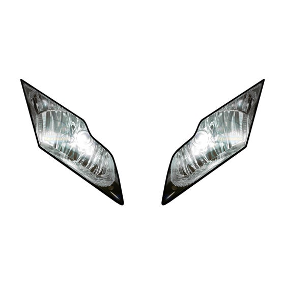 Image of Headlight Stickers. To fit Kawasaki ZX10R: 2011-2015