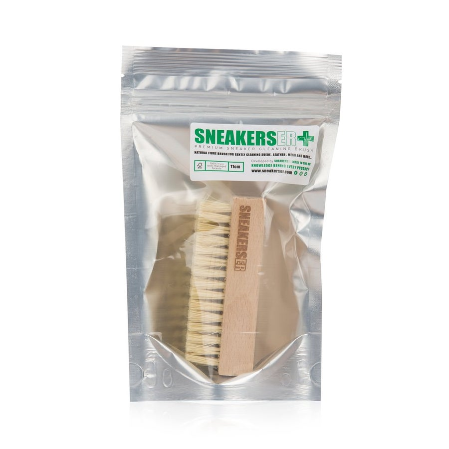 Image of PREMIUM SNEAKER CLEANING BRUSH WITH NATURAL FIBRES