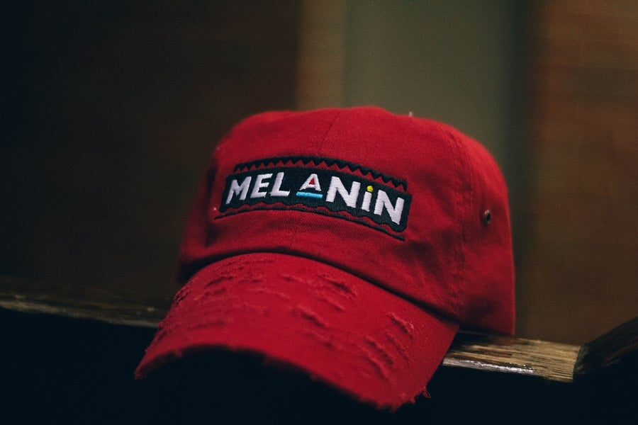 Image of Christmas Edition Red Martin Melanin Hat
