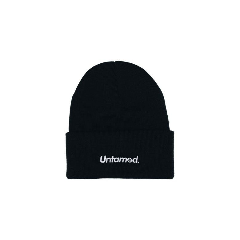 Image of Untamed - Black Beanie