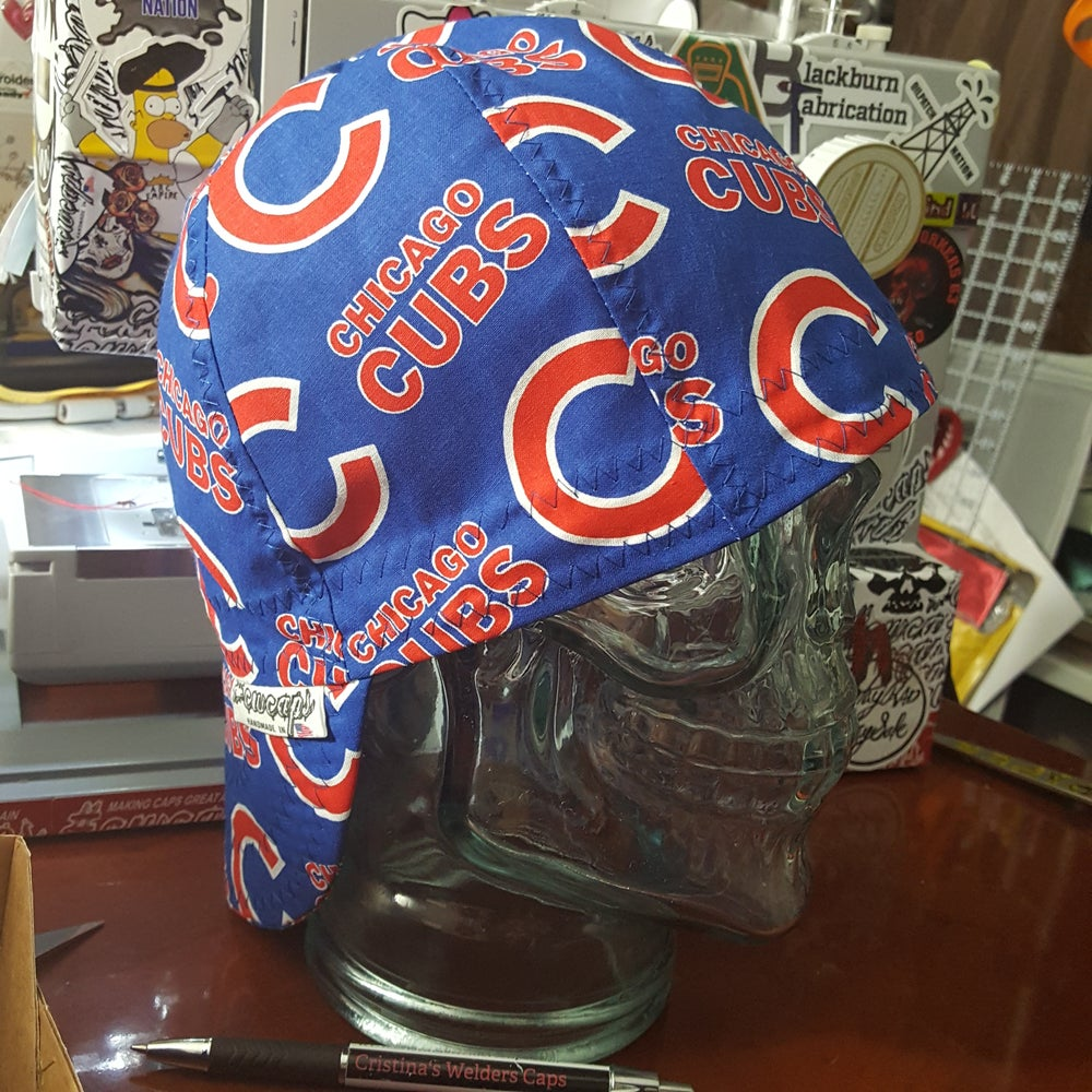 Image of chicago cubs welders cap