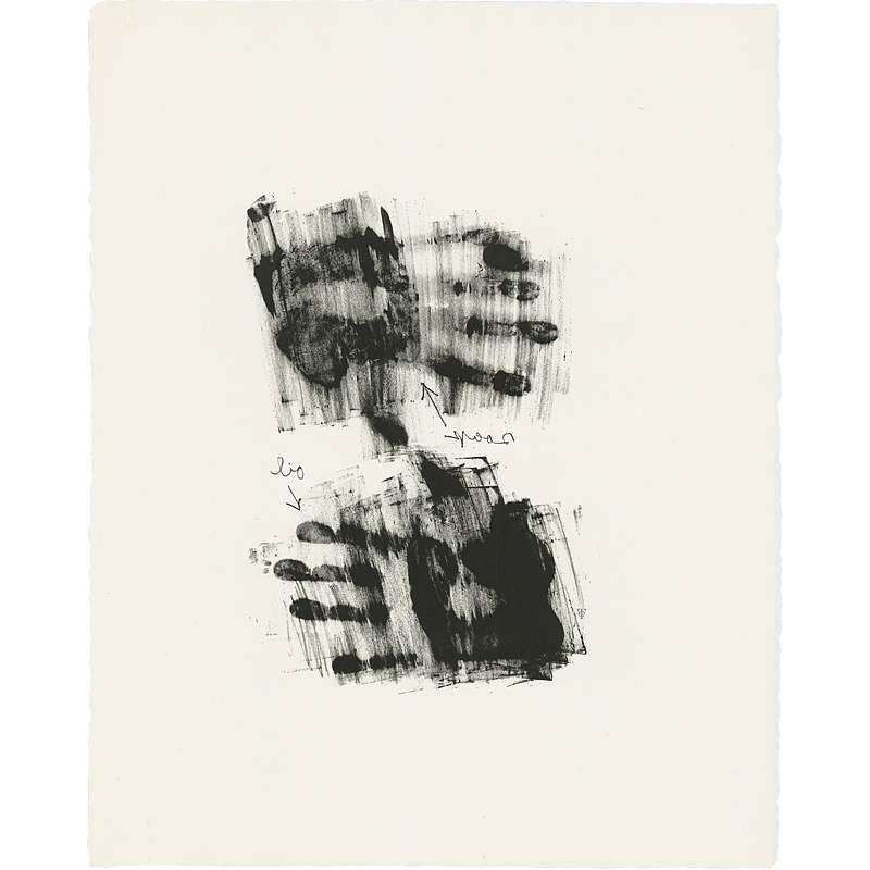 Hand, Jasper Johns