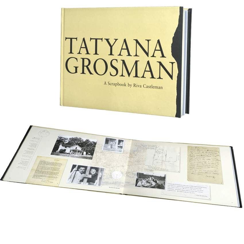 Tatyana Grosman: A Scrapbook by Riva Castleman