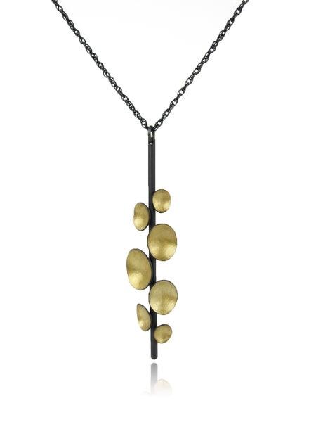 Image of Golden pod pendant