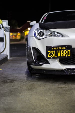 Image of GT Spec Front Aero Canards (GT86 & FRS 13-16)