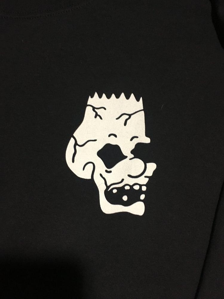 Image of skull longsleeve tee
