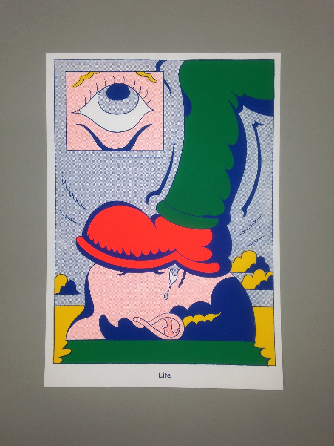Image of Life (4 color screenprint - Edition of 25)